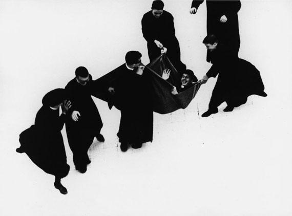 Mario Giacomelli, Priesterserie 1961-1963 © Simone Giacomelli
